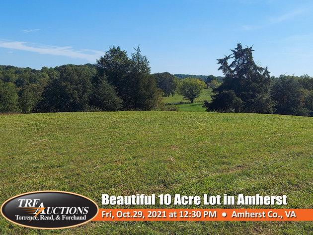 Beautiful 10 Acres in Amherst VA