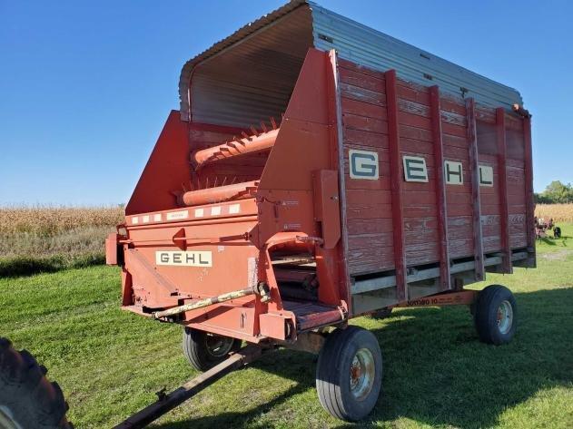 OCTOBER FARM, TRAILERS, MOWERS, TOOLS, VEHICLES & FARM MISC.