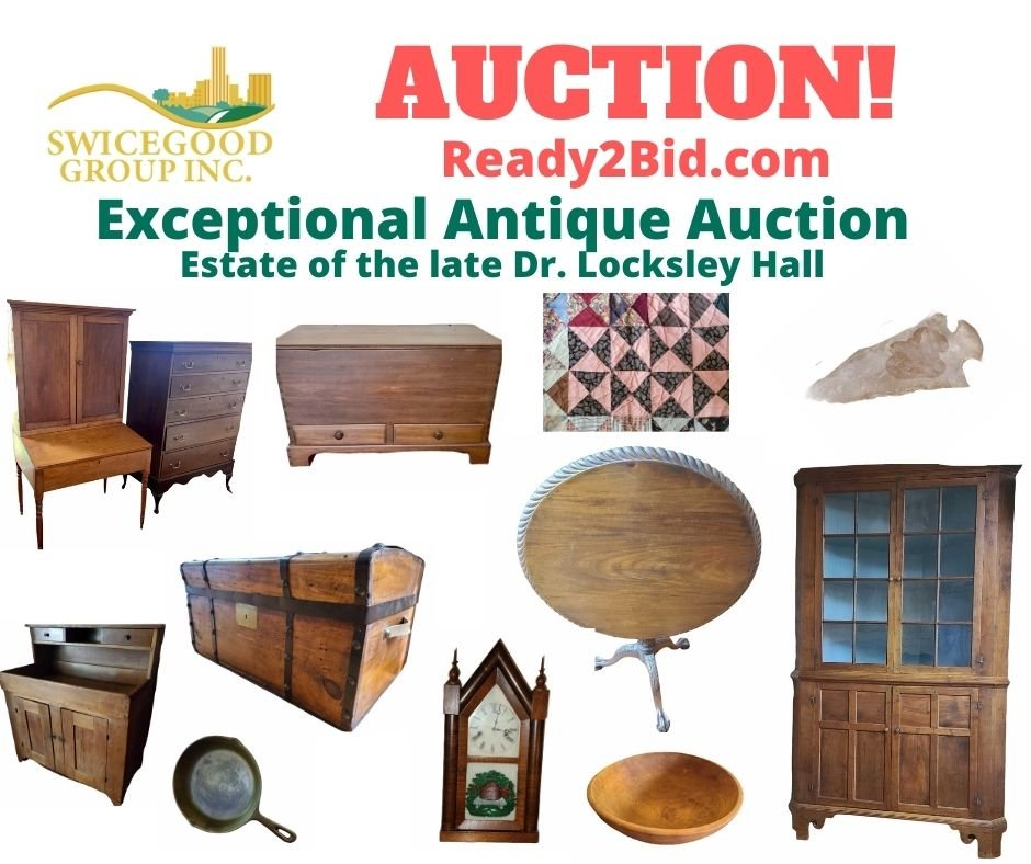 Antique Collection of the late Dr. Locksley Hall
