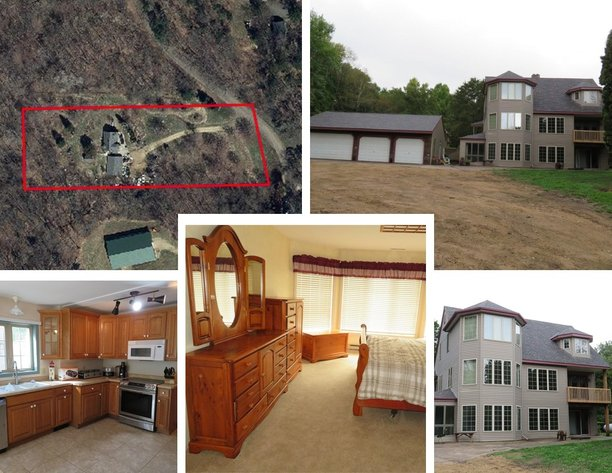 Lake View on 2.5 Acres Online Auction