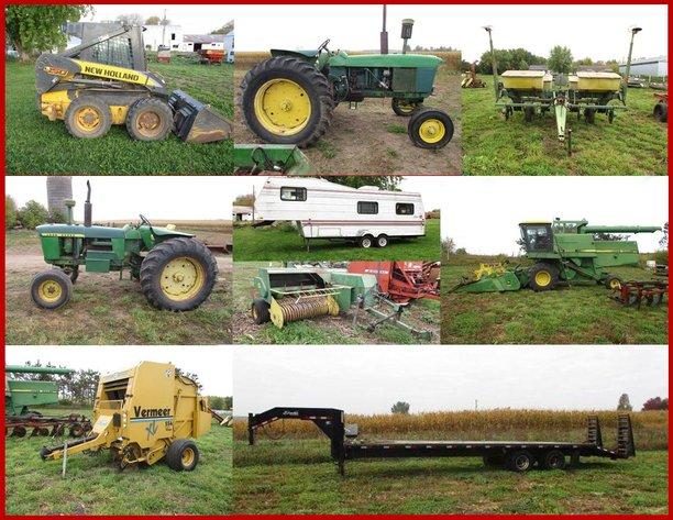Ronald Benedict Estate Farm Machinery & Tools