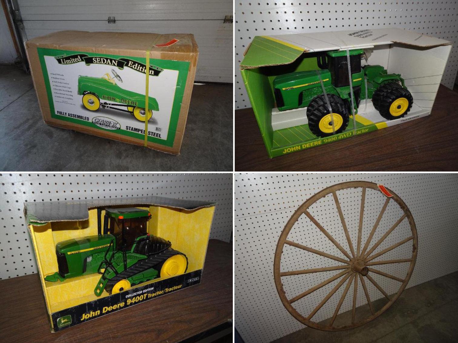John Deere Collectibles, Antiques & Primitive Items