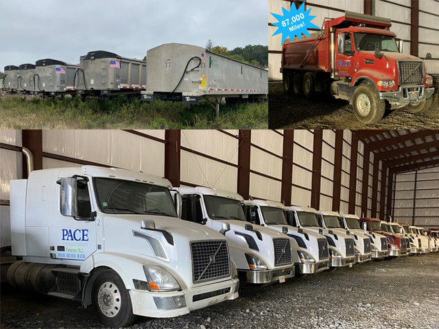 Volvo Truck Tractors & Aluminum Dump Trailers