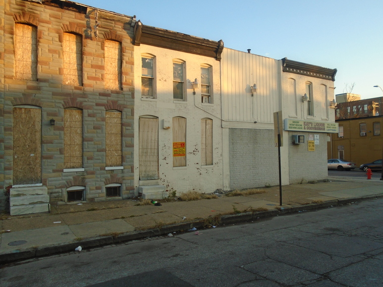 Baltimore City Vacant Property Registration
