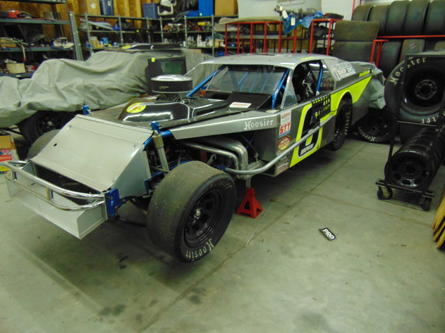 Complete Modified Racecars, ARCA Roller Chassis, Fabrication Equip., Racecar Parts & Pit Equip.