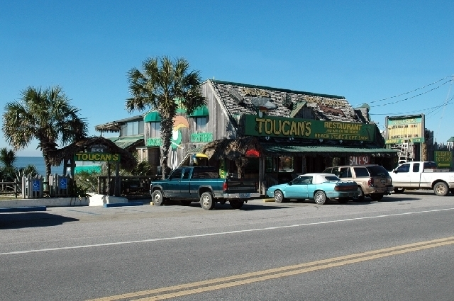 Toucan's Gulf Front Restaurant, Mexico Beach, FL