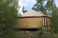 Lot 2 Yurt & Steel Building