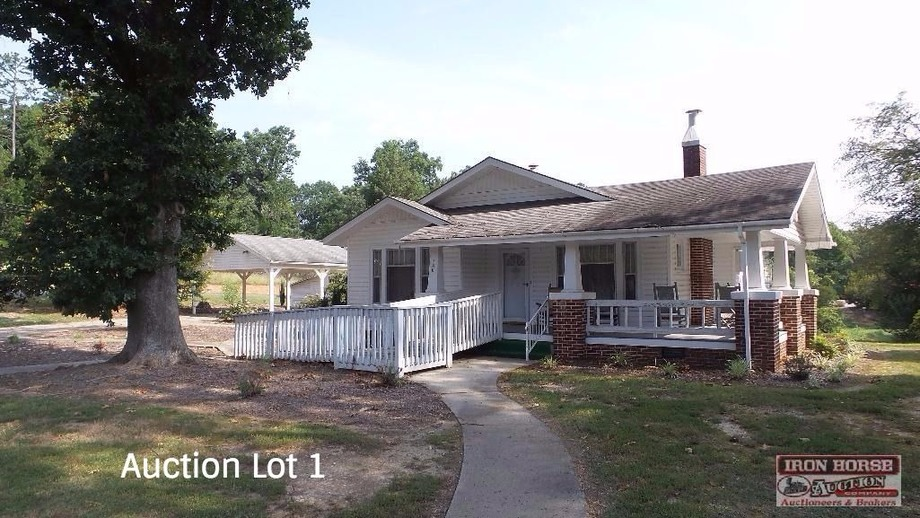 10 Day Upset Period in Effect--Court Ordered Estate Auction of House, Commercial Buildings and Acreage Tracts in Moore County, NC