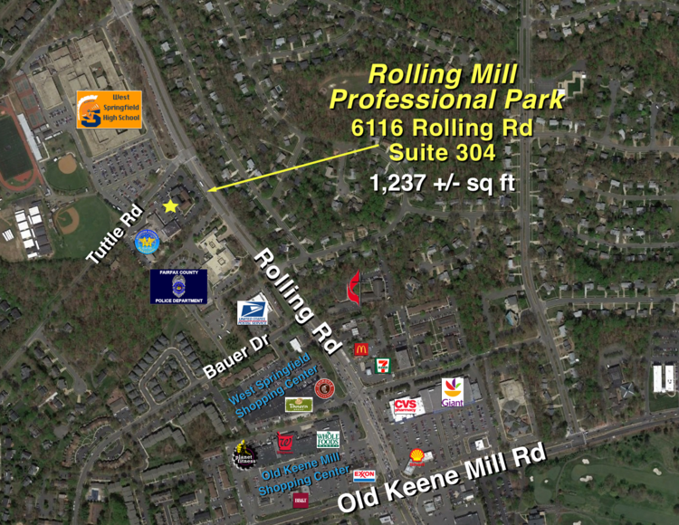 Featured Image for Office Condo in Rolling Mill Professional Park, Springfield, VA--Sells to the Highest Bidder--ONLINE ONLY BIDDING!!