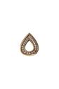 Ladies 18kt yellow gold diamond slide style pendant