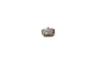 14kt white gold diamond clasp