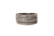 Lady's size 7 ¼ 18kt white gold Fancy Princess Cut Diamond ring