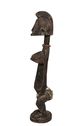 Wood Carved Female Standing Figure