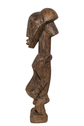 Wood Carved Male Standing Figure