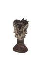 Wood Carved Janus Head