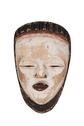 Wood Carved Female Mask
