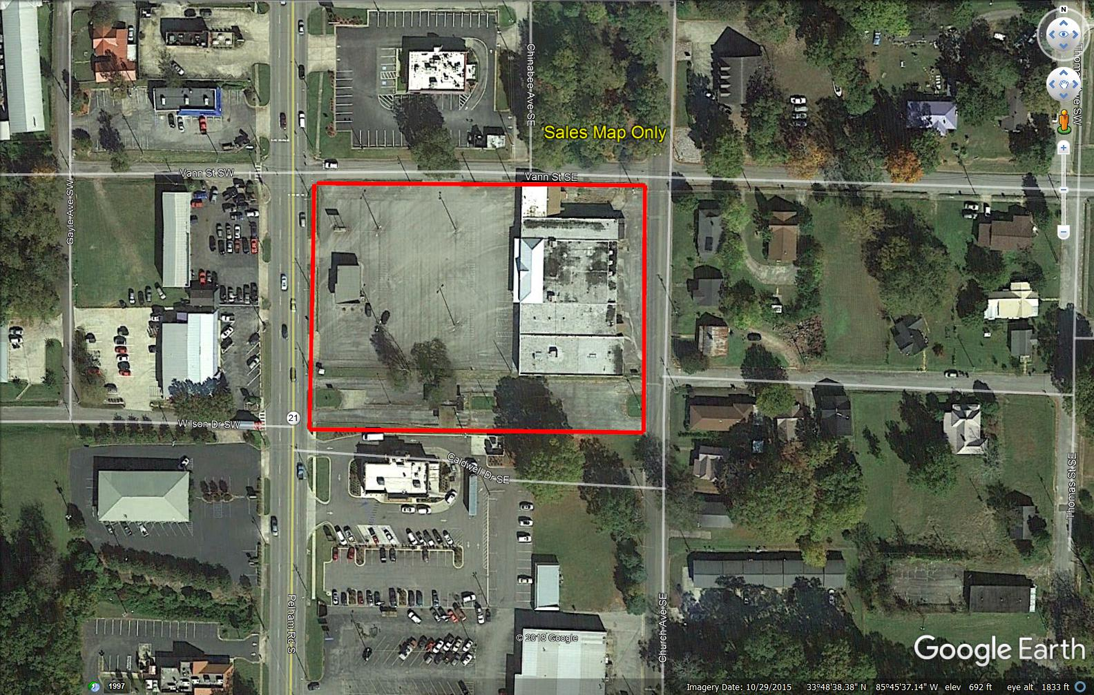 Alabama (Jacksonville) 3 Commercial Buildings Selling as
