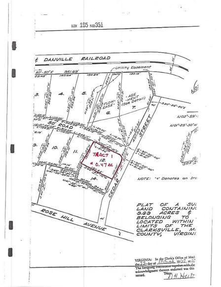 Image for Clarksville & Buffalo Junction Land Tracts