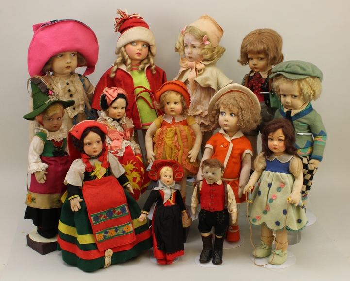 Live and Online Doll Auction - From the Collections of Rosemarie Snyder and Regina Steele (Part Two) and the Estate of Grace Olsen: 10-3-18