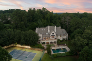 Private Gated Sandy Springs Estate on 3.27± Acres