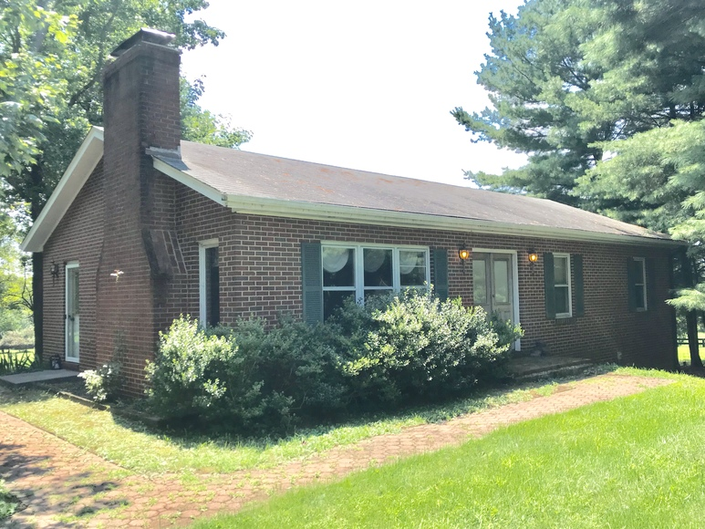 Featured Image for Well Built 3 BR/3 BA Brick Home w/Outbuildings on 3.4 +/- Acres in Loudoun County, VA---Selling to the Highest Bidder!!