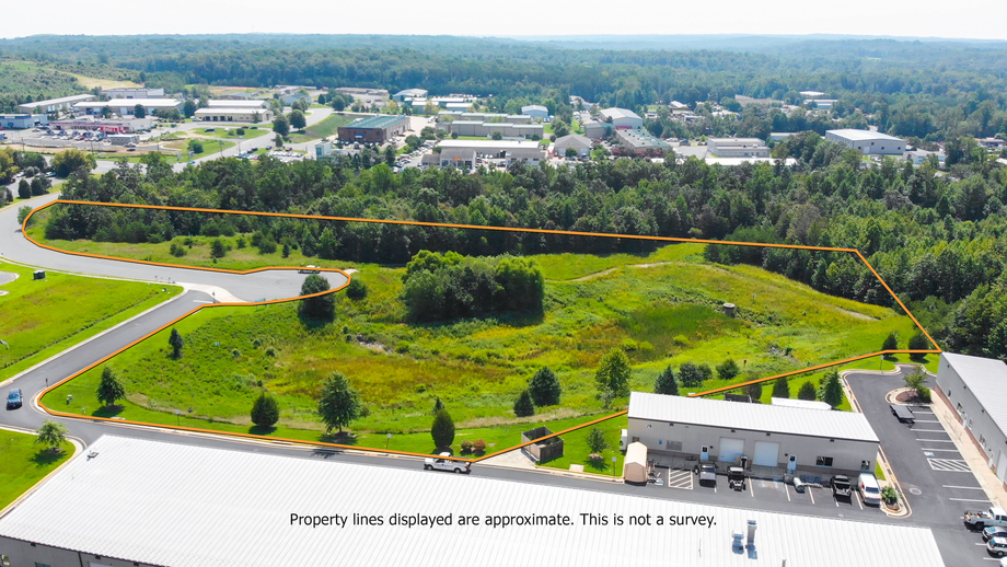 FOR SALE - $100,000 - 4 8 Acre Industrial Parcel in