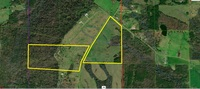 ENTIRETY: Brow Home on 49± Acres and the Additional 42± Acre Parcel
