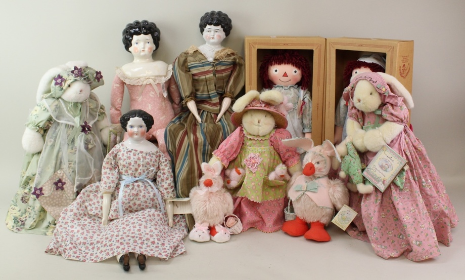 Gallery/Estate Auction with Dolls: 10-11-18