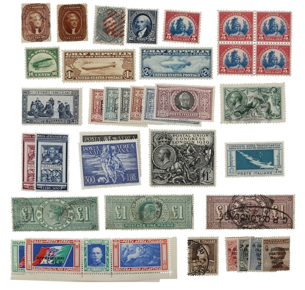 Stamp Auction - Postponed Until Tuesday, December 11th at 2:00 PM