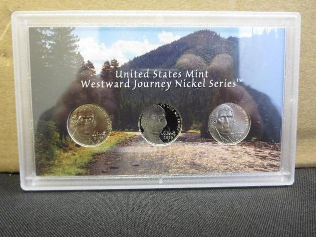 2006 Westward Journey Nickel Proof Coin Set