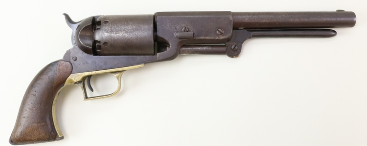 Firearms, Accessories and Taxidermy Auction featuring an Original 1847 Colt Walker #122 attributed to C-Company of the Texas Rangers: 12-18-18