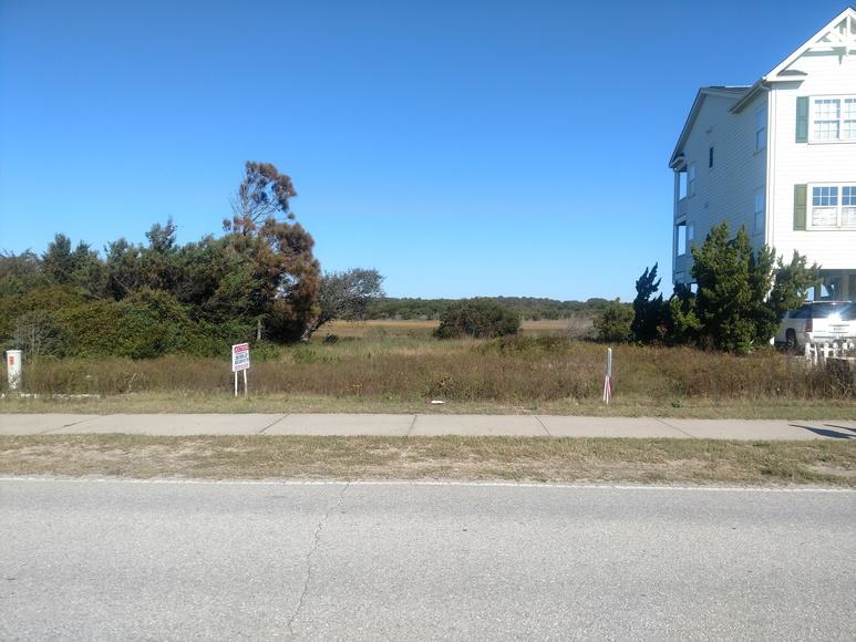 Oceanview Lot in Holden Beach, NC
