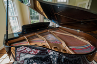 SOLD - $9,500 - Yamaha Baby Grand Piano with Disklavier system