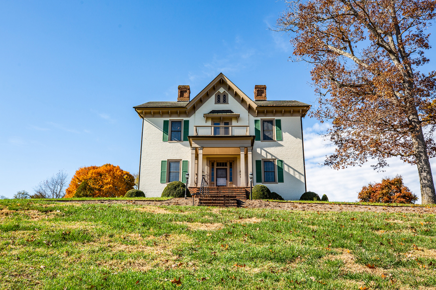 Image for Bear Wallow Farm/David Fultz House:  35 +/- Acres--Immaculately Restored and Historic 4 BR Home, Barn, Pastures & Fencing
