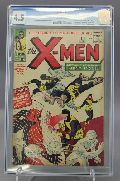 Live and Online - Comic Book Auction: 1-15-19