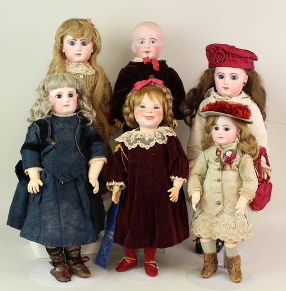 Live and Online Doll Auction - From the Collection of Regina Steele, Part 3 and the Estate of Joanne Brucklacher Horstmann: 4-3-19