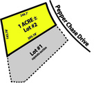 Lot # 2 1+ acre Pepperchase Drive Southaven, MS
