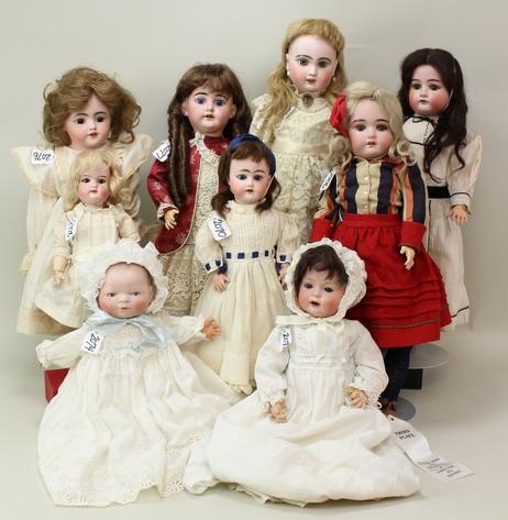 Alderfer Online - Antique Bisque Dolls and Body Parts: 2-12-19