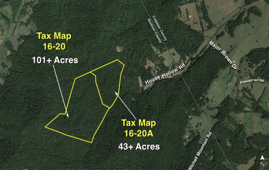Image for 144 +/- Acres:  2 Adjacent Timber Tracts in Madison County, VA—101 & 43 Acre Parcels.  SELLS to the HIGHEST BIDDER!!