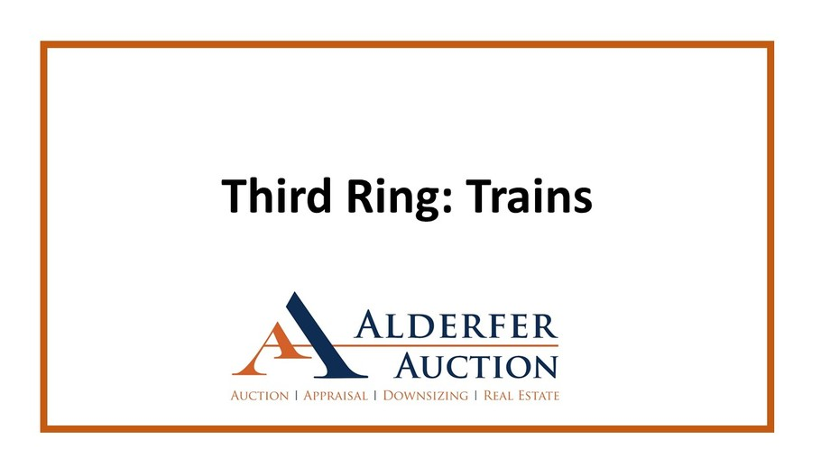 Gallery Auction with Tools, Trains and Toys: 1-24-19