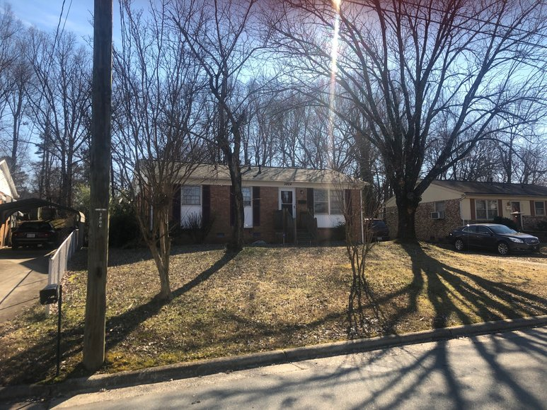 Bankruptcy Auction of a House and Lot on Nash Street in Greensboro, NC