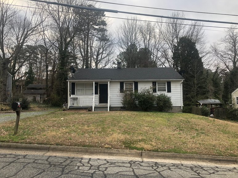 Bankruptcy Auction of House and Lot on Hayden Street in Greensboro, NC