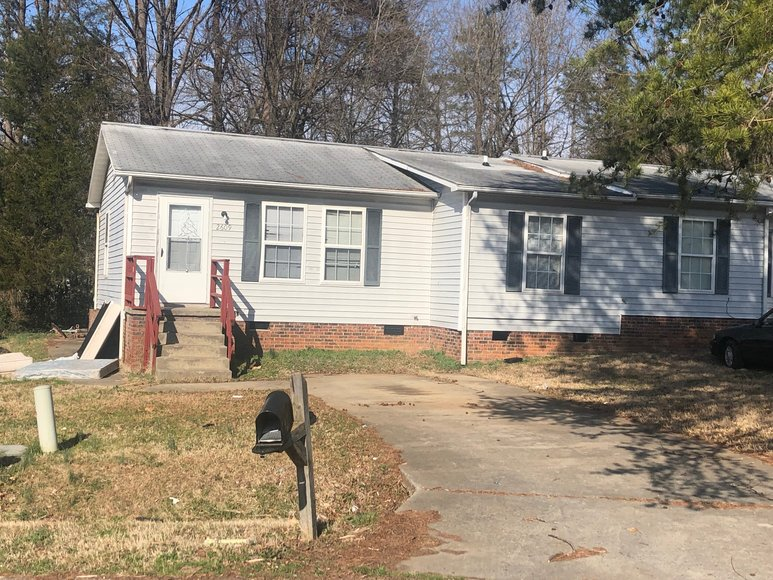 Bankruptcy Auction of Duplex Unit in High Point, NC