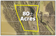 80± Acres of Land Perfect for Hunting