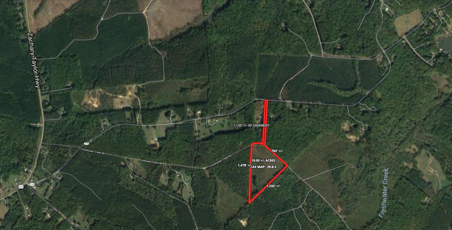 Featured Image for 19 Acres with 3 BR Perc Site & 50' Deeded Easement in Louisa County, VA.  Sells to the Highest Bidder--ONLNE ONLY BIDDING!!