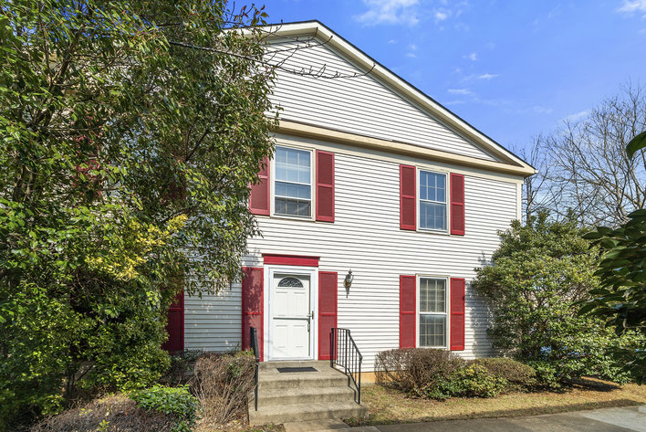 Sold Charming Brick Front End Unit Townhome In