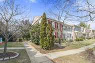 SOLD - Charming Brick Front, End Unit Townhome in Alexandria!