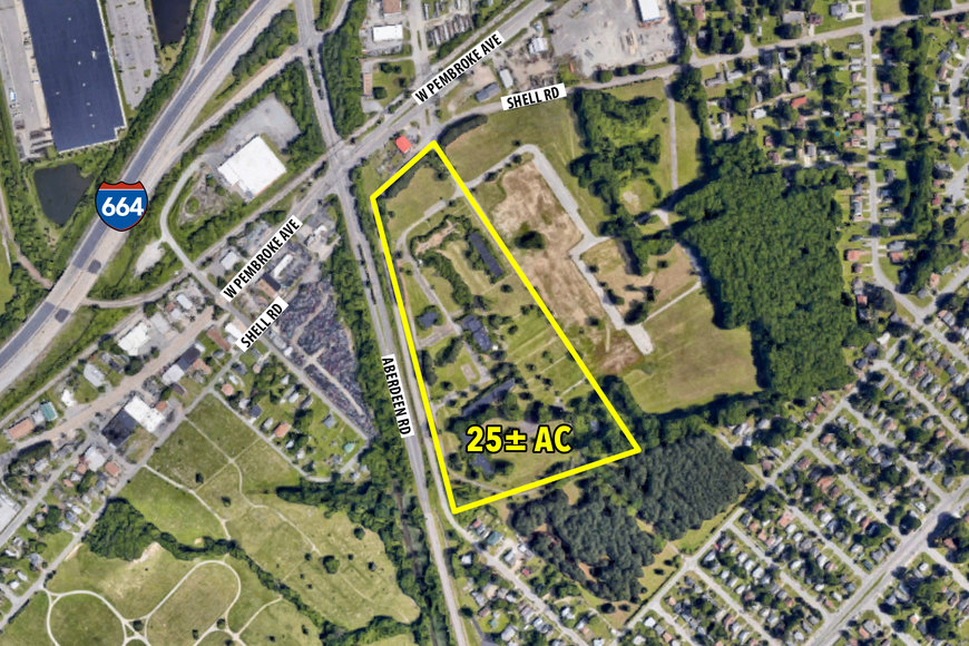 Image for 25 ± AC Industrial Redevelopment Site - 700 Shell Rd., Hampton, VA 23661