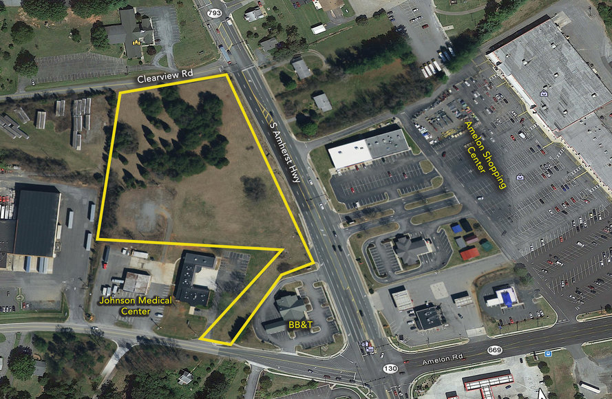 Image for 5.848 Acres Commercial Real Estate (Amherst County)