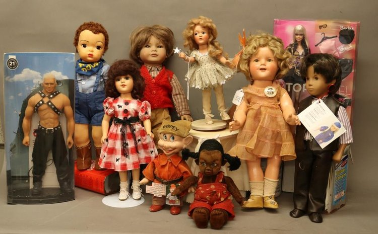 Alderfer Online - 1930's - 2000's Modern and Collectible Doll Auction: 5-21-19